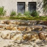 Mario Knecht Gartengestaltung Trockensteinmauer